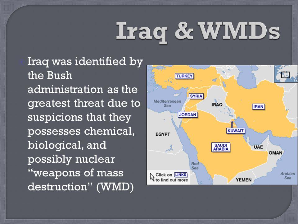 Iraq & WMDs