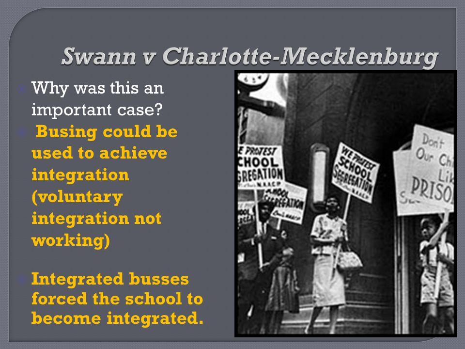 Swann v Charlotte-Mecklenburg