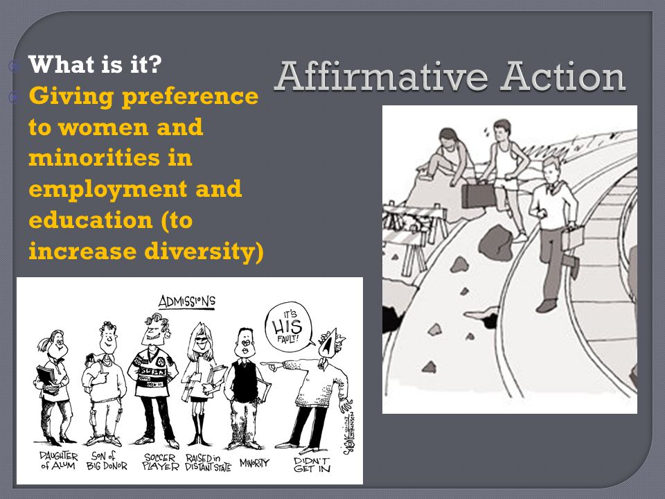 Affirmative Action What is it