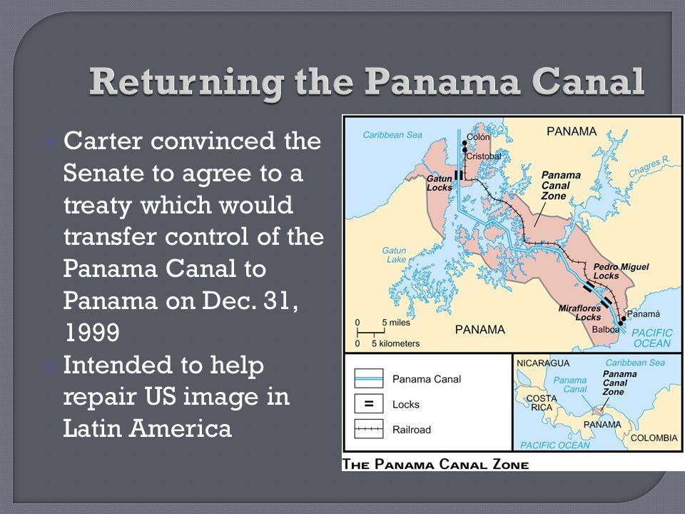 Returning the Panama Canal