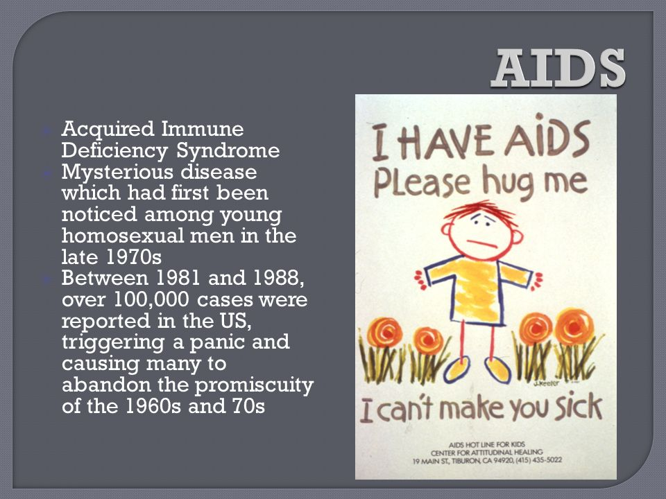 AIDS Acquired Immune Deficiency Syndrome