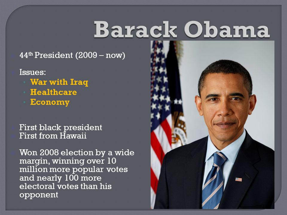 Barack Obama Issues: War with Iraq Healthcare Economy