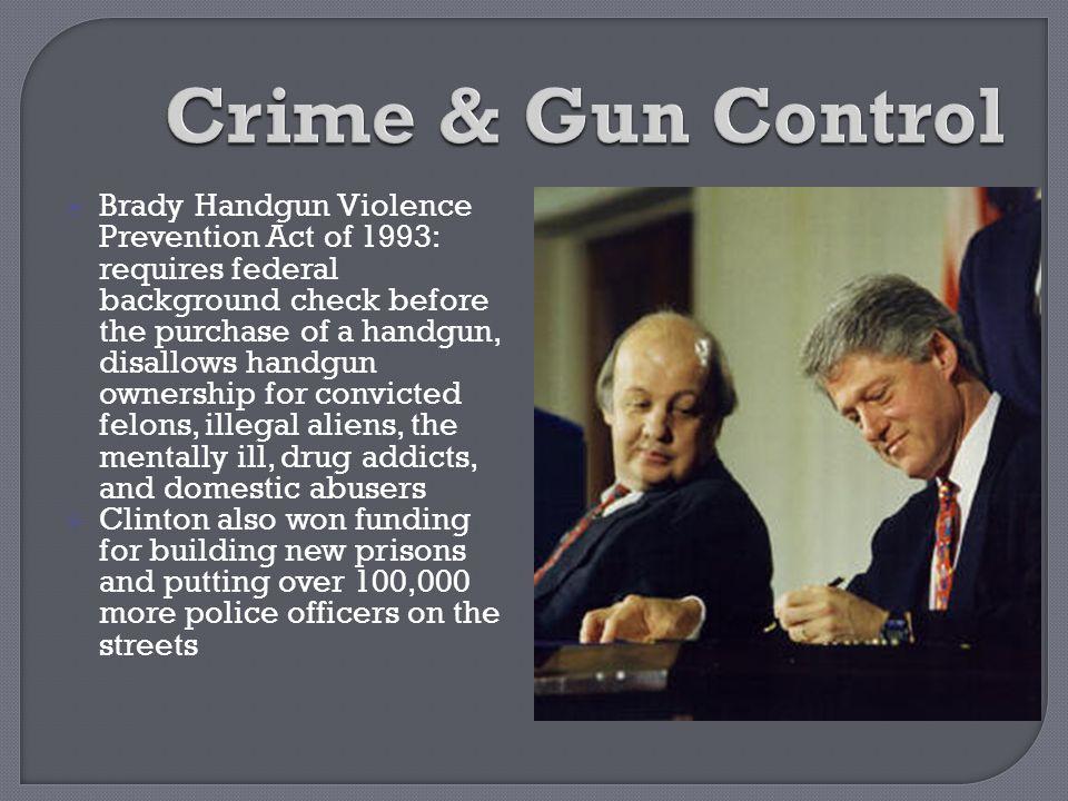 Crime & Gun Control