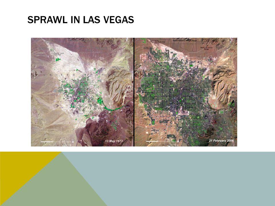 Sprawl in Las Vegas