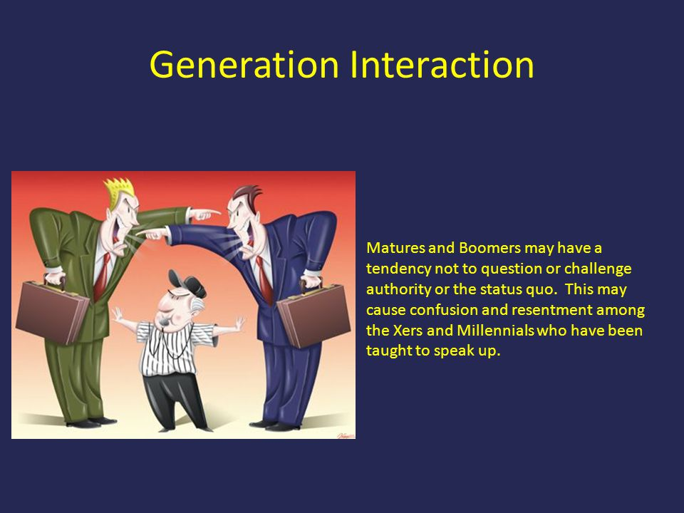 Generation Interaction
