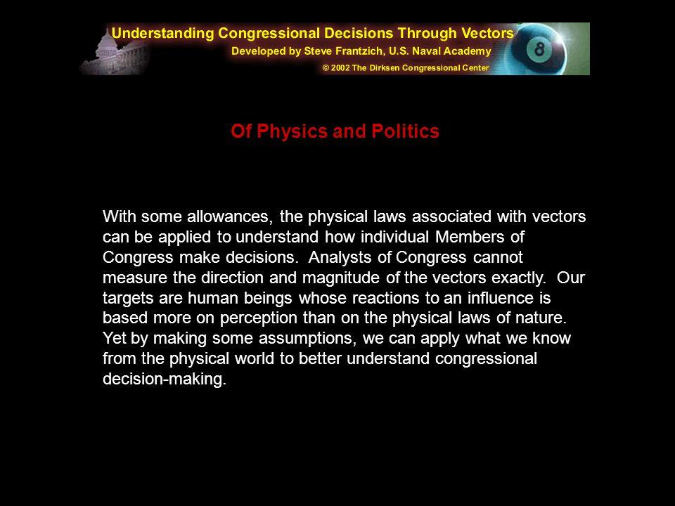 Of Physics and Politics