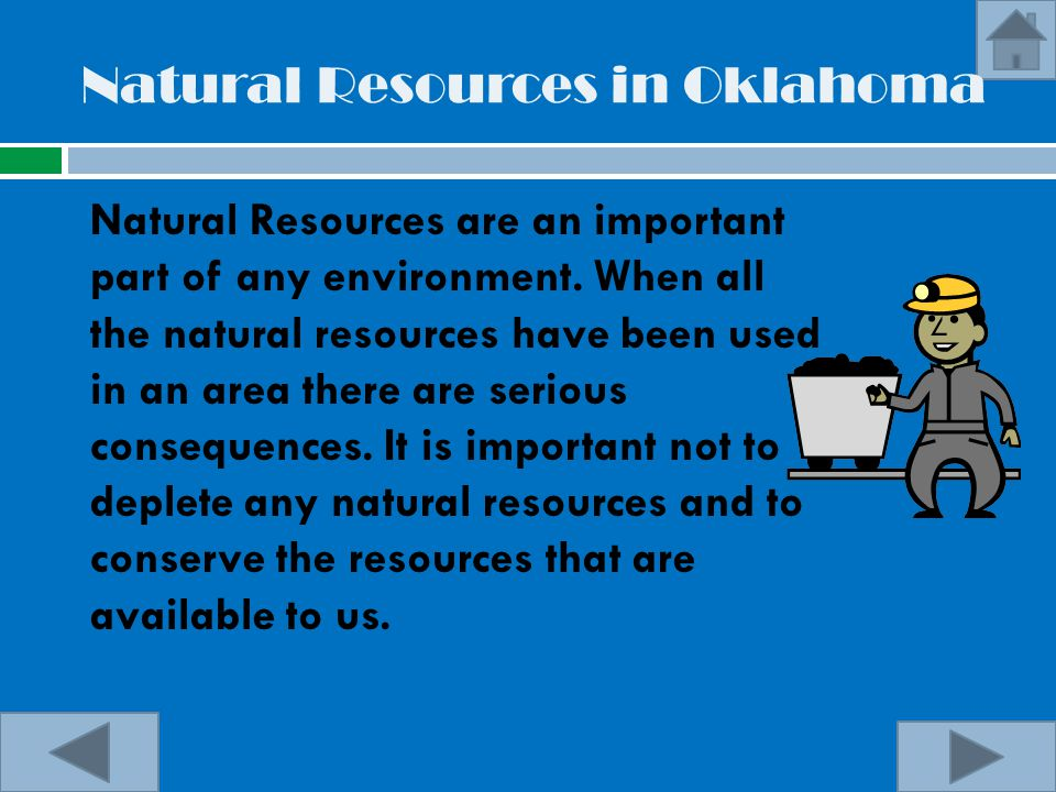 Natural Resources in Oklahoma