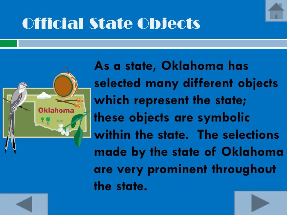 Official State Objects