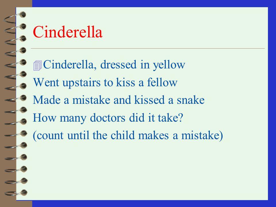 Cinderella Cinderella, dressed in yellow