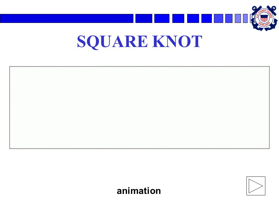 SQUARE KNOT animation