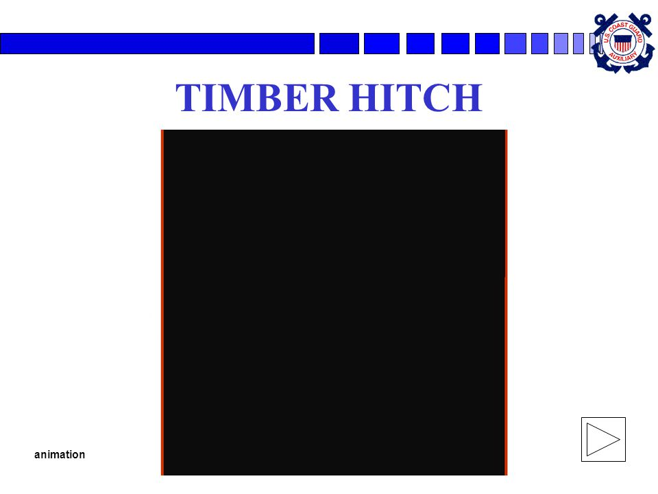 TIMBER HITCH animation