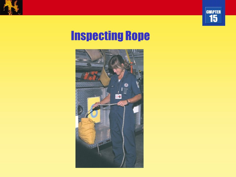 Inspecting Rope