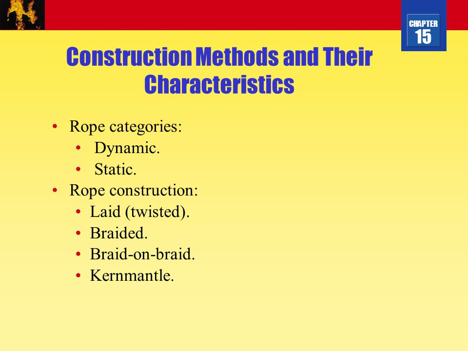 Construction Methods and Their Characteristics