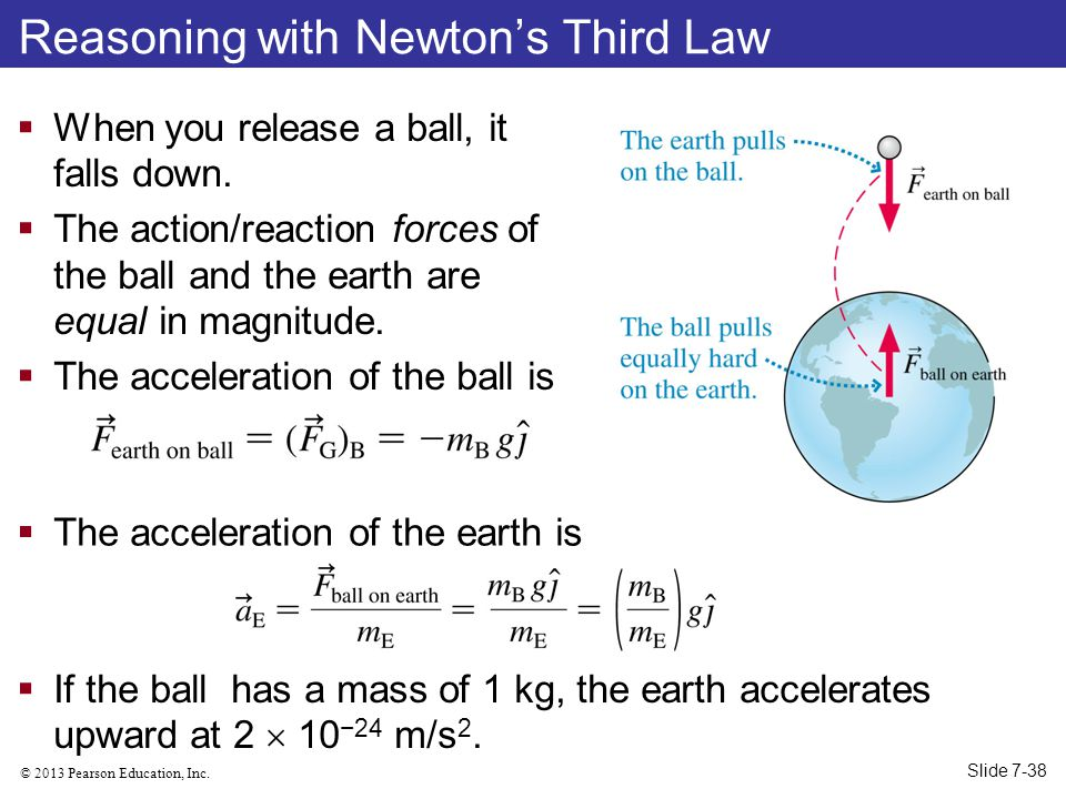 Reasoning with Newton's Third Law