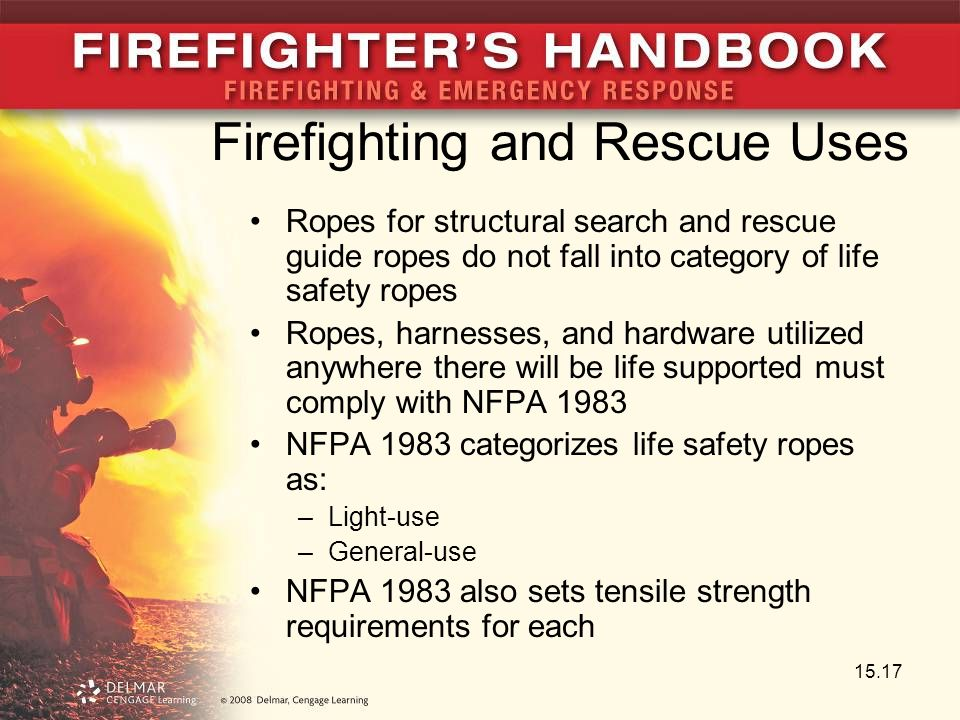 Firefighting and Rescue Uses