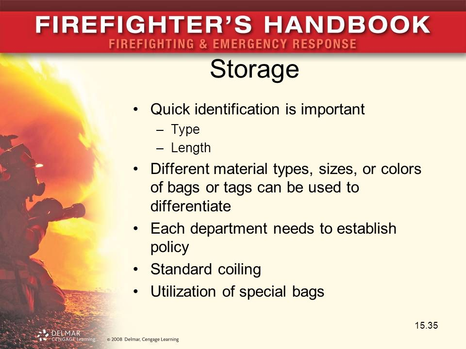 Storage Quick identification is important