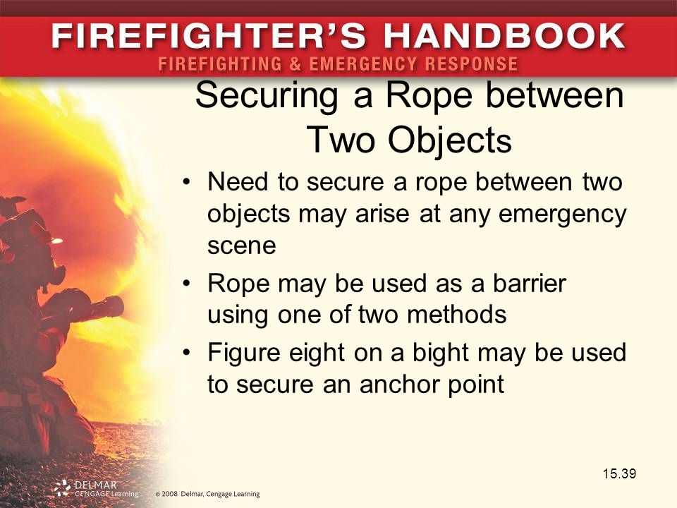 Securing a Rope between Two Objects