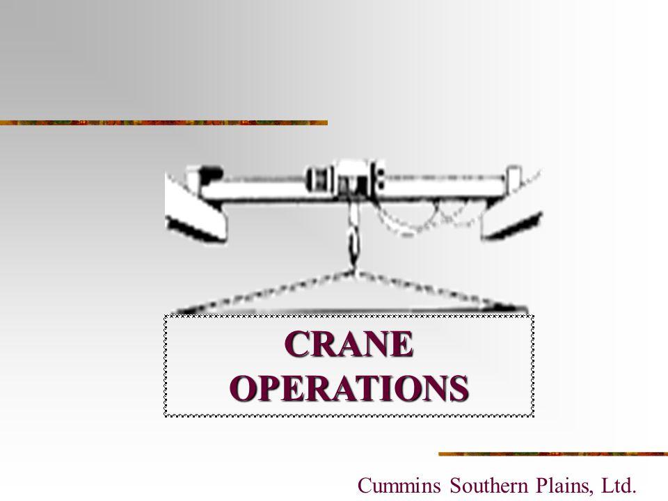 Presentation 3 - Crane Operations