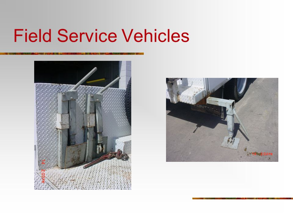 Field Service Vehicles