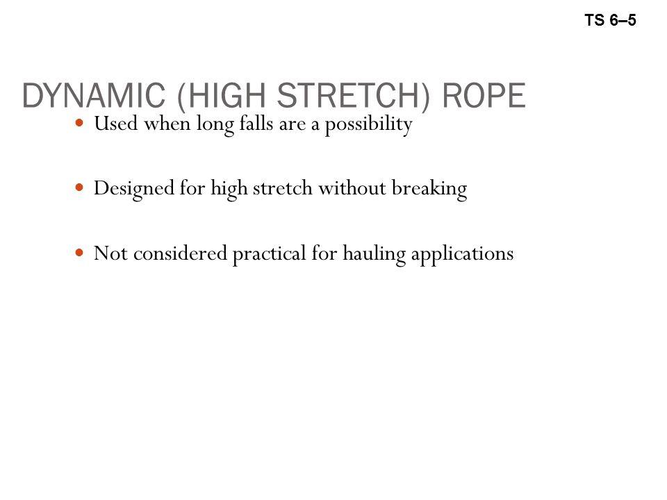 DYNAMIC (HIGH STRETCH) ROPE