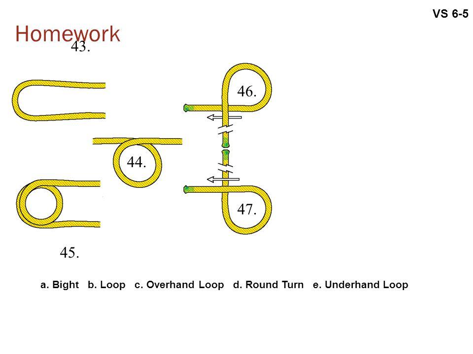 VS 6-5 Homework. 43. 46. 44. 47. 45. a.