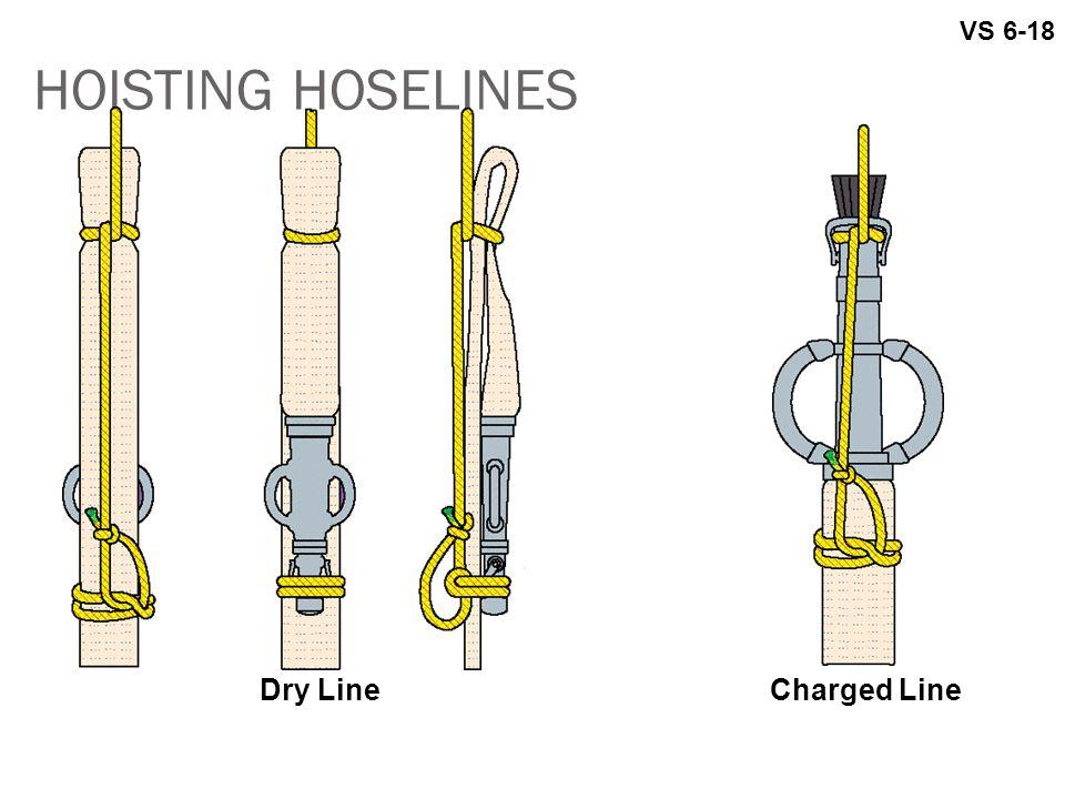 VS 6-18 HOISTING HOSELINES Dry Line Charged Line