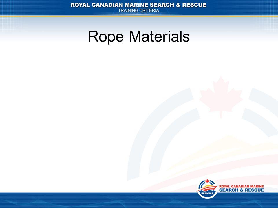Rope Materials