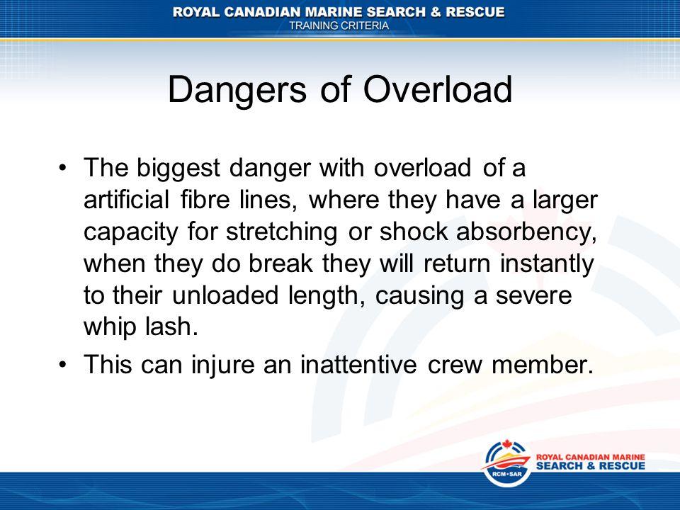 Dangers of Overload