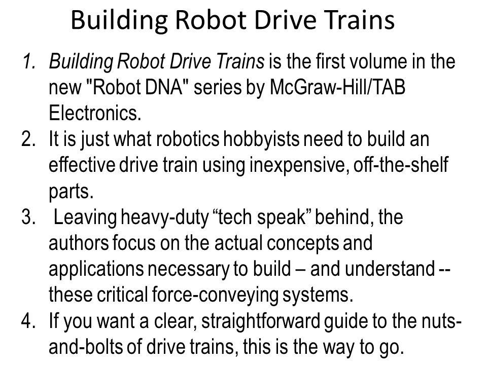 Building Robot Drive Trains