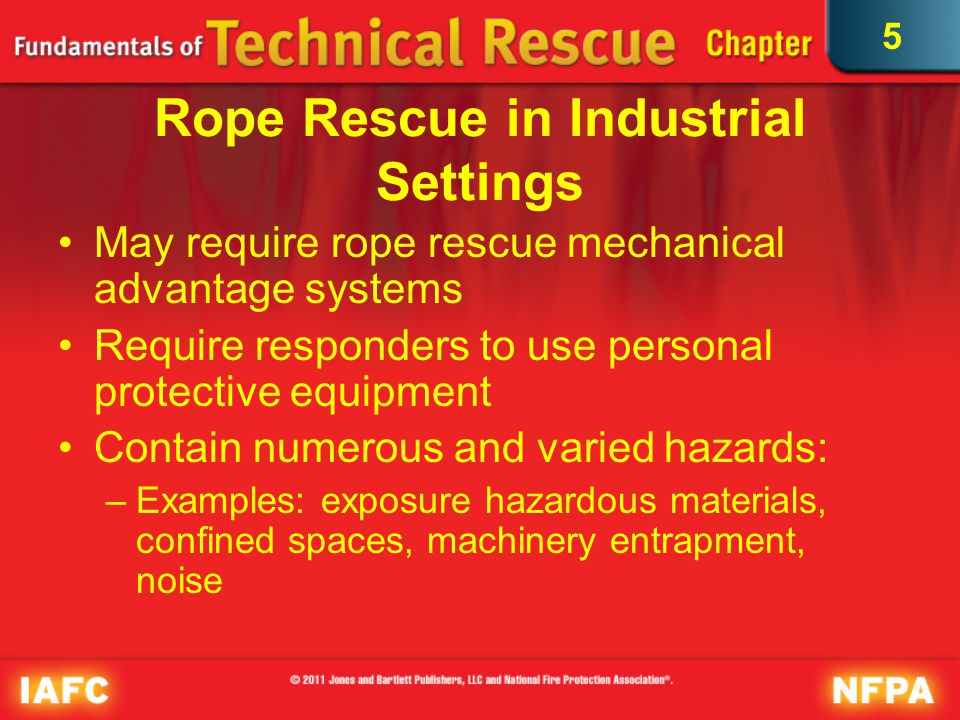 Rope Rescue in Industrial Settings