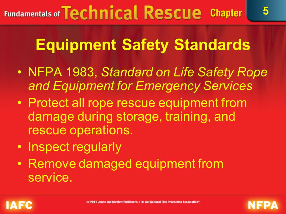 Equipment Safety Standards