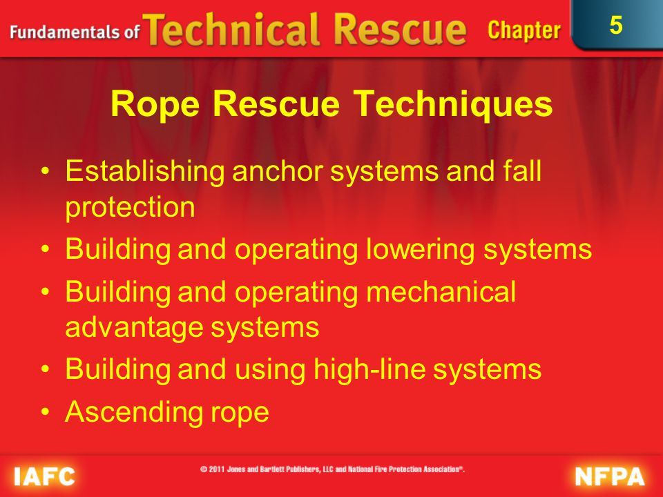 Rope Rescue Techniques