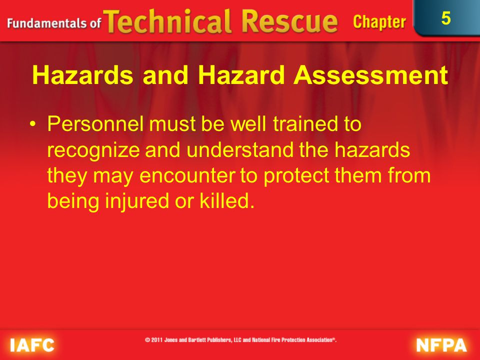 Hazards and Hazard Assessment