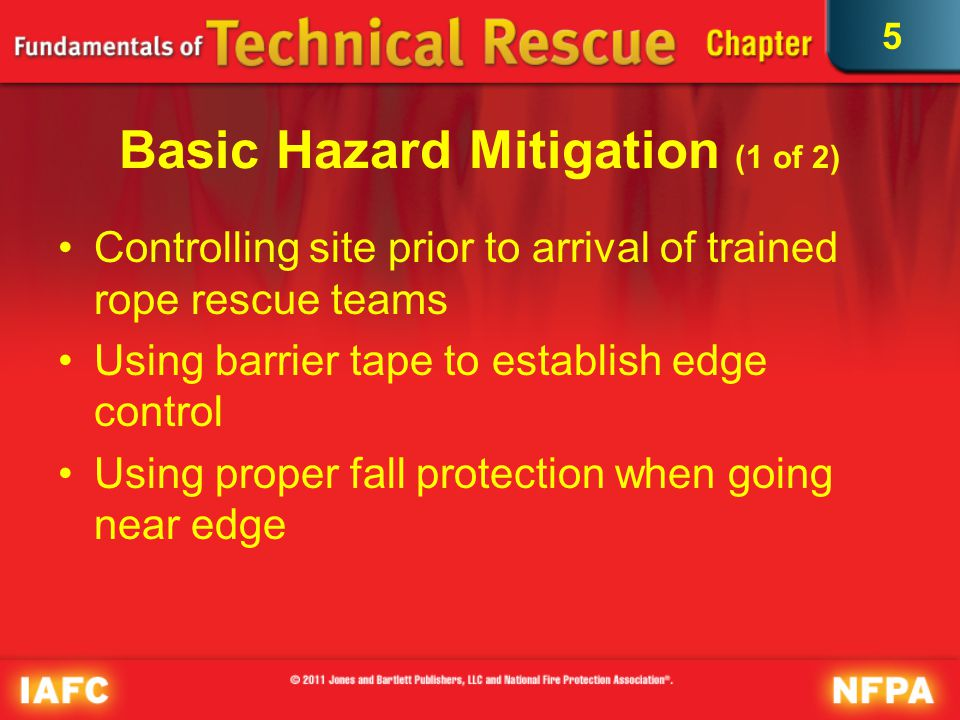 Basic Hazard Mitigation (1 of 2)