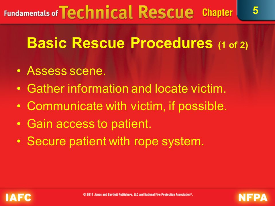 Basic Rescue Procedures (1 of 2)
