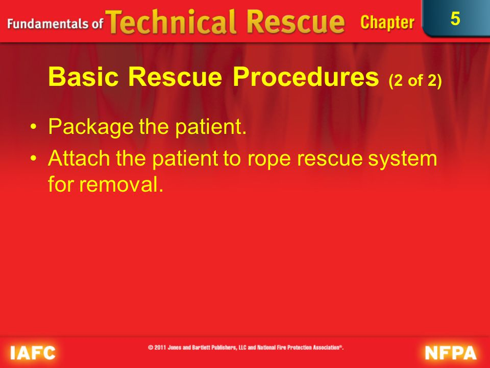 Basic Rescue Procedures (2 of 2)
