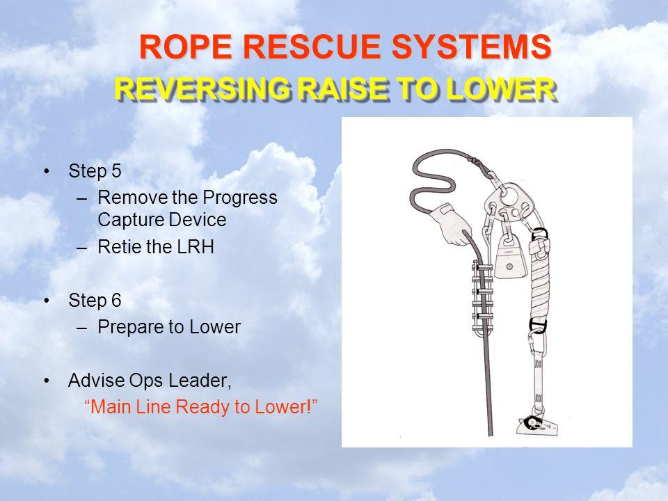 REVERSING RAISE TO LOWER
