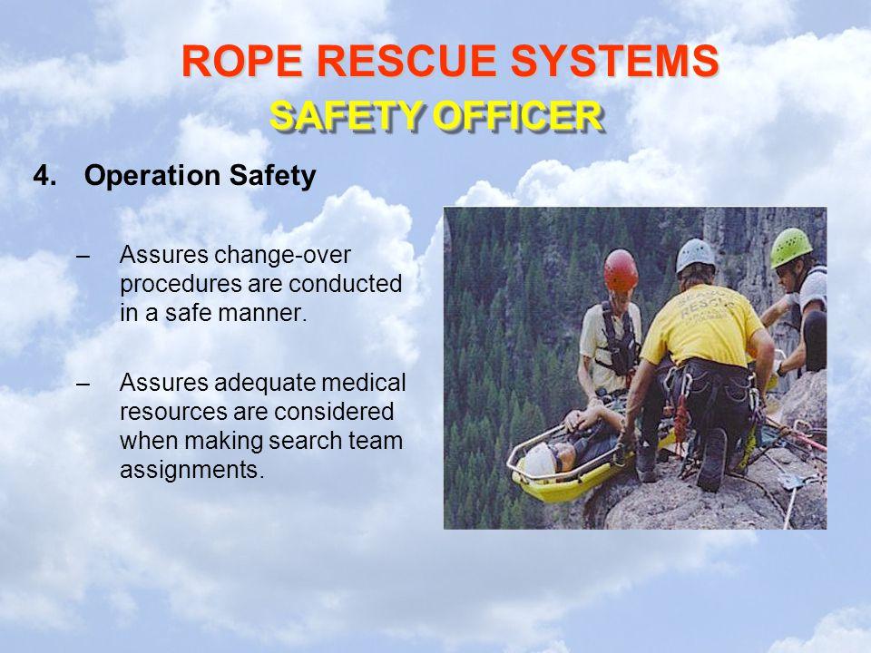 SAFETY OFFICER Operation Safety