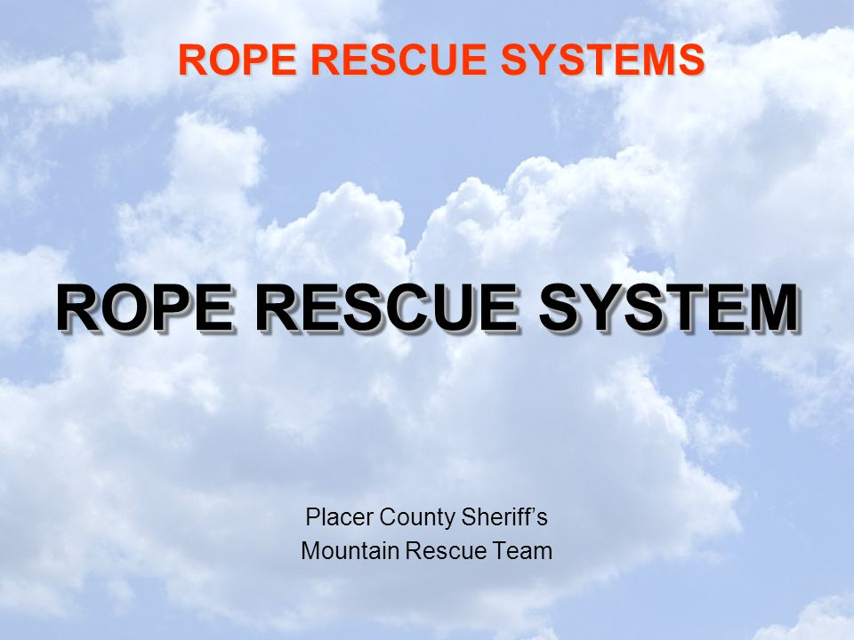 Placer County Sheriff's