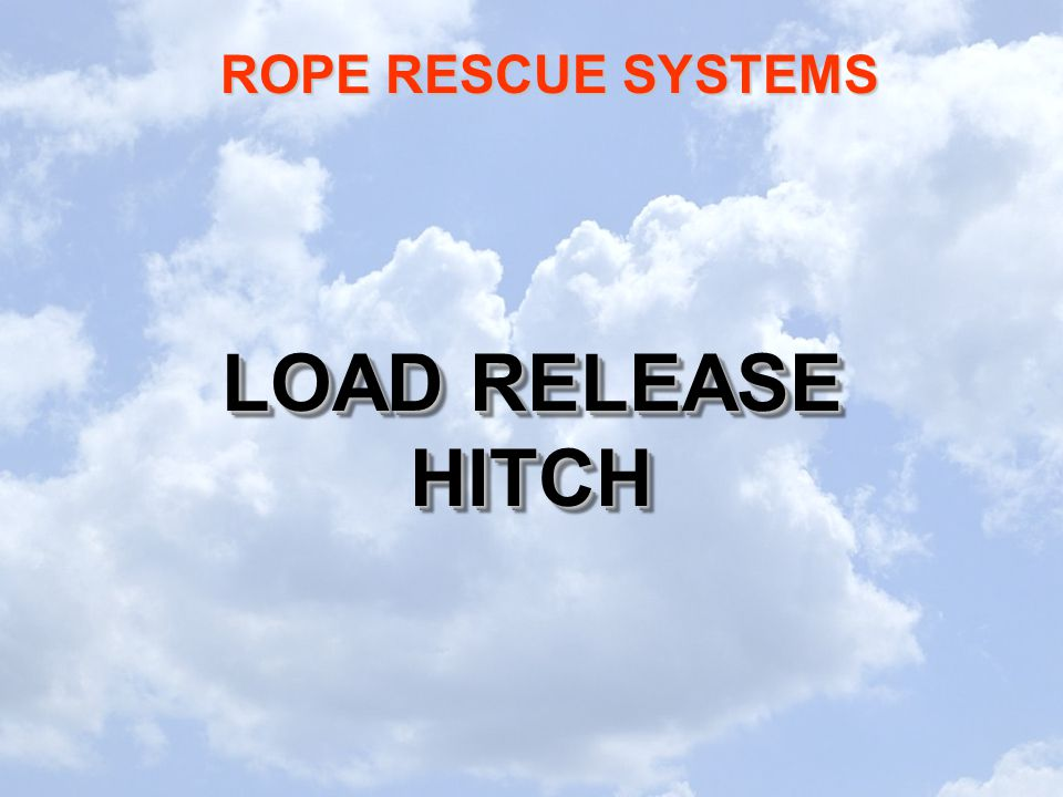 LOAD RELEASE HITCH