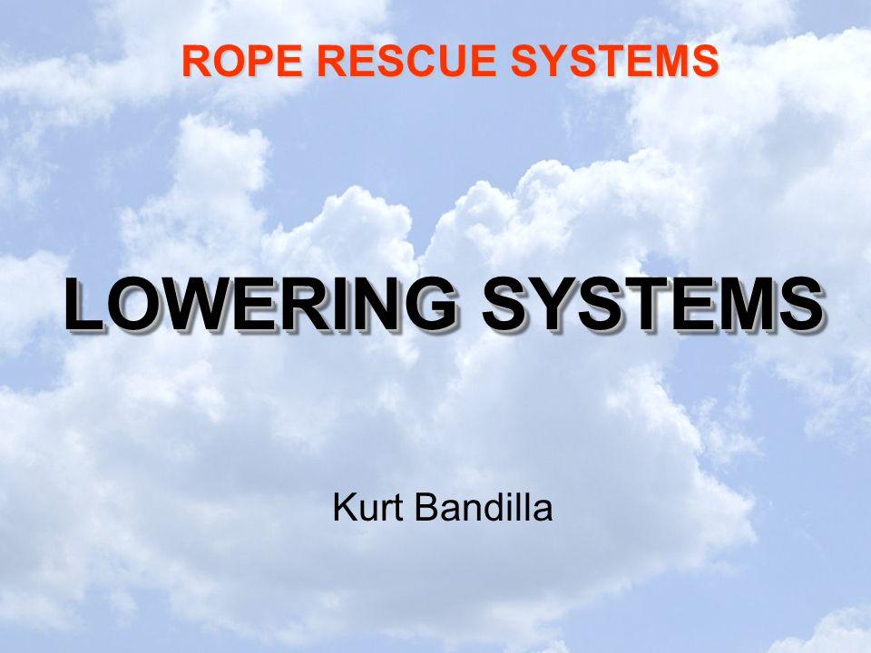 LOWERING SYSTEMS Kurt Bandilla