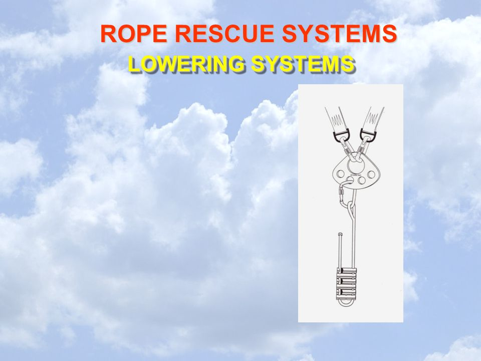 LOWERING SYSTEMS