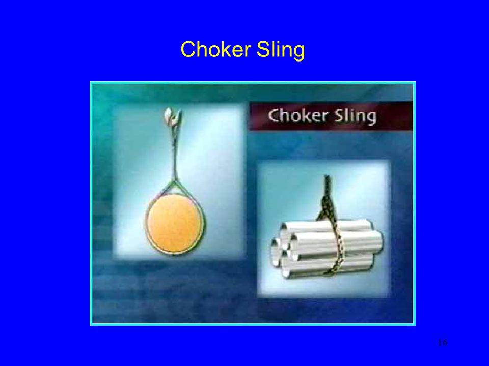 Choker Sling