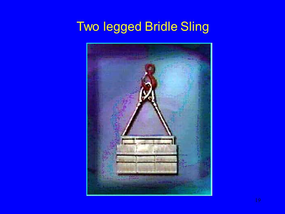 Two legged Bridle Sling
