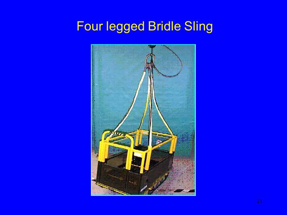 Four legged Bridle Sling