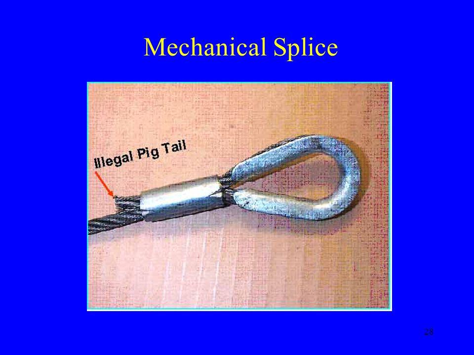 Mechanical Splice