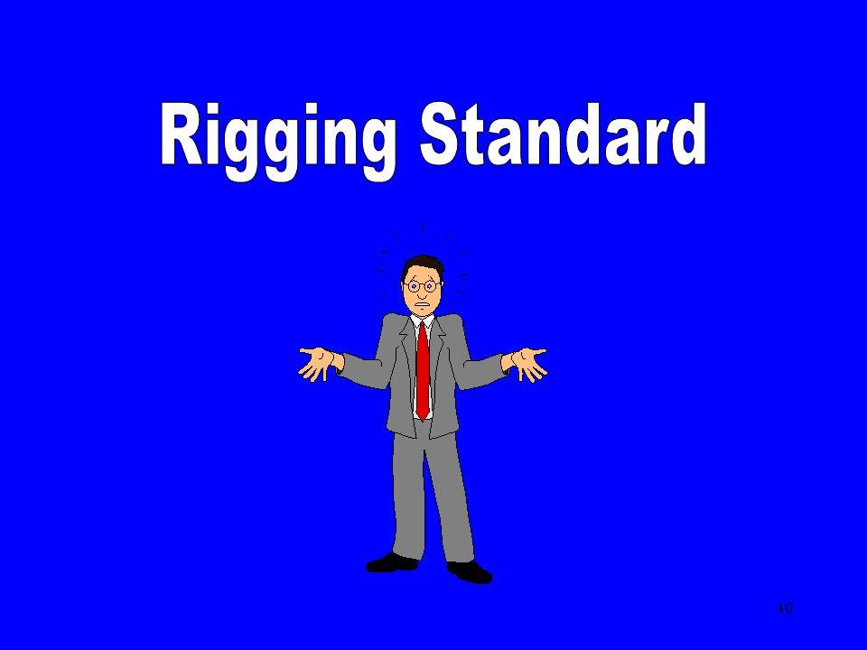 Rigging Standard