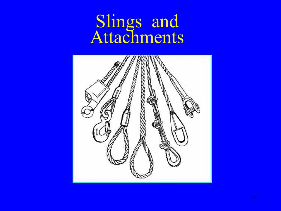 Slings and Attachments