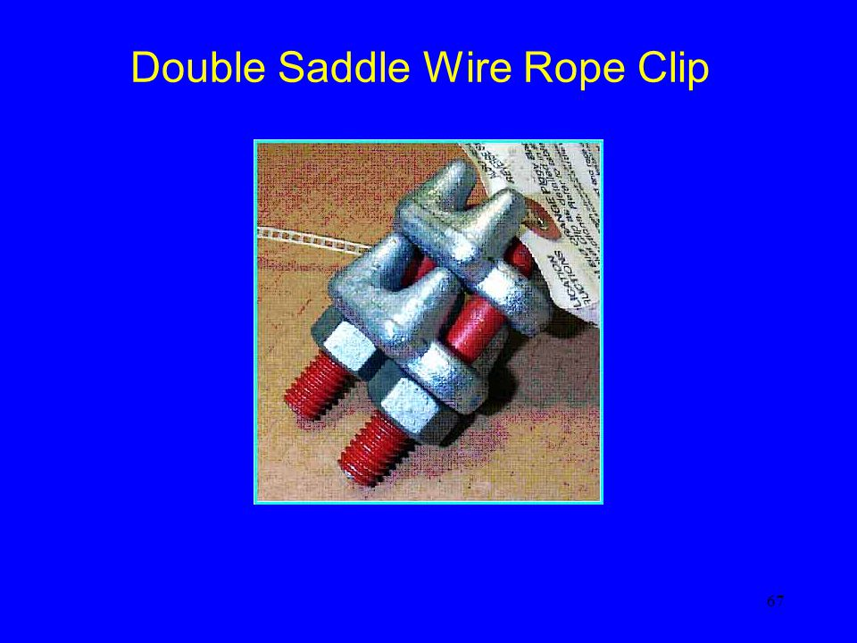 Double Saddle Wire Rope Clip