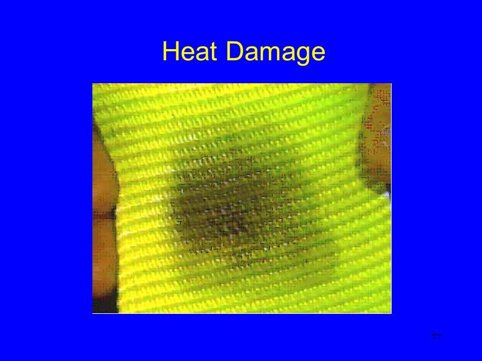 Heat Damage